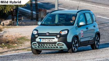 Δοκιμή: Fiat Panda Cross Hybrid