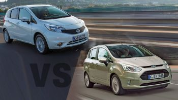 Ford B-MAX Vs Nissan Note