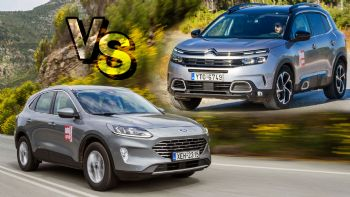 Citroen C5 Aircross Vs Ford Kuga
