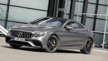 Mercedes-AMG S 63 Coupe Yellow Night Edition