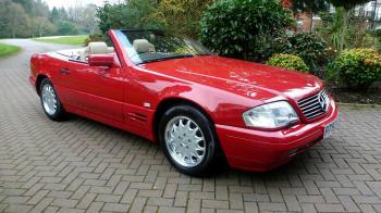 Πωλείται «άθικτη» Mercedes SL500 του 1996