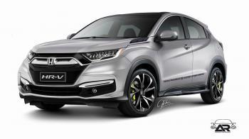 To ανανεωμένο Honda HR-V;