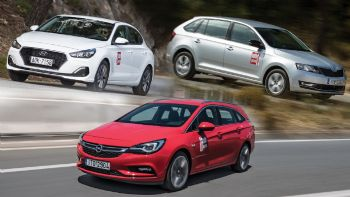 Hyundai i30 Fastback vs Opel Astra Sports Tourer vs Skoda Rapid Spaceback