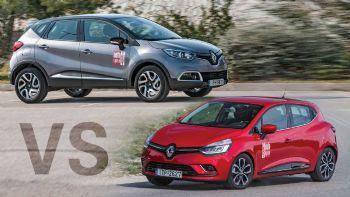 Μάχη στα 0,9 λτ.: Renault Captur Vs Clio