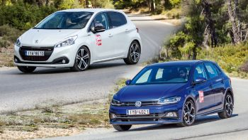 Peugeot 208 GT-Line VS VW Polo R-Line