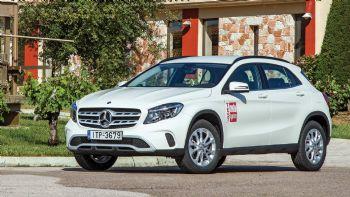 Πρώτη Δοκιμή: Ανανεωμένη Mercedes GLA 200