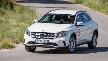 Δοκιμή: Νέα αυτόματη Mercedes GLA 200
