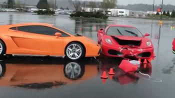 Ferrari πέφτει με τα «μούτρα» σε Lamborghini