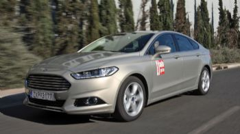 Test: Ford Mondeo 1,6 TDCi