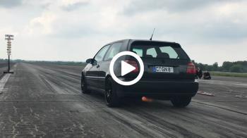 Golf Mk 3 VR6 «πιστολιάζει» και γίνεται καπνός