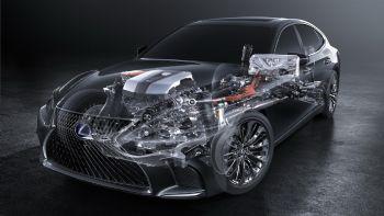 Νέο Lexus LS 500h