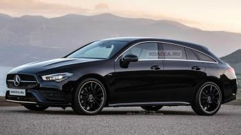 H νέα CLA Shooting Brake;