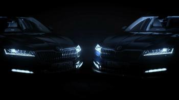 Nέο teaser για τη Skoda Superb facelift (+vid)