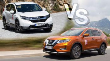 Honda CR-V Vs Nissan X-Trail