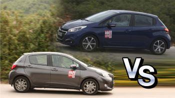 Peugeot 208 VS Toyota Yaris