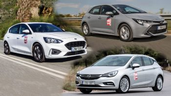 Ford Focus VS Opel Astra VS Toyota Corolla