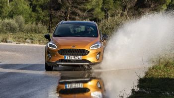 Δοκιμή: Ford Fiesta Active