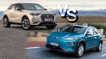 DS 3 Crossback E-Tense Vs Hyundai Kona Electric