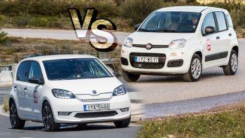 Fiat Panda CNG vs Skoda Citigo e iV