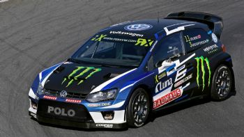 Ένα WRC στο Rallycross