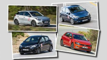 Hyundai i20 VS Opel Corsa VS Toyota Yaris VS VW Polo