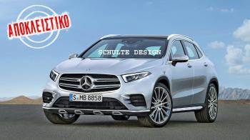 Nέες Mercedes GLA & GLA Coupe