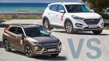 Hyundai Tucson vs Mitsubishi Eclipse Cross