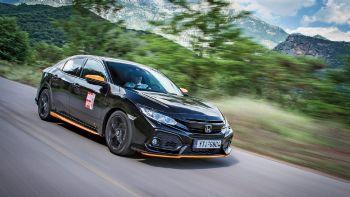 Πρώτη Δοκιμή: Νέο Honda Civic 1,0 λτ. με 129 PS