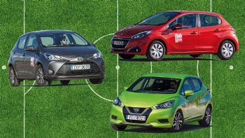 Μάχη στα best-seller: Micra VS 208 VS Yaris