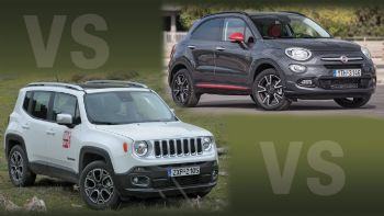 Fiat 500 X Vs Jeep Renegade