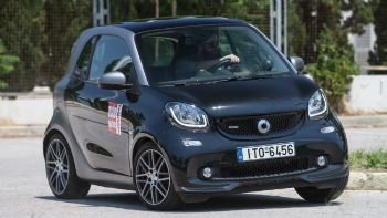 Δοκιμή: smart fortwo coupe BRABUS 0,9 λτ και 110 PS