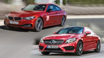 BMW Σειρά 4 Vs Mercedes C-Class Coupe