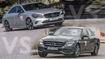 Mercedes CLA 200 Vs C 160