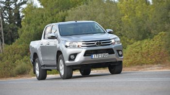 Test: Νέο Toyota Hilux Double Cab