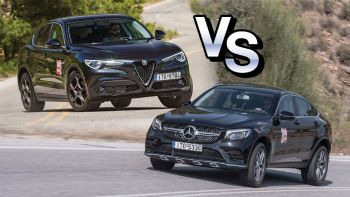 Alfa Romeo Stelvio Vs Mercedes GLC Coupe