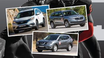 Skoda Kodiaq Vs Nissan X-Trail Vs Honda CR-V