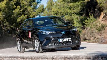 Δοκιμή: Toyota C-HR 1,8 HSD με 122 PS