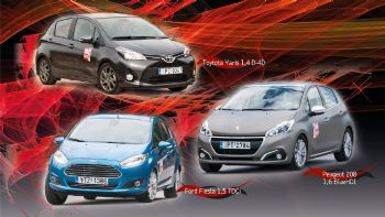 Yaris Vs Fiesta Vs 208