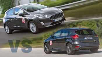 Νέο Ford Fiesta Vs Focus