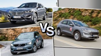 BMW X1 Vs Ford Kuga Vs Volvo XC40