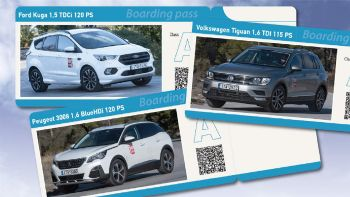 SUVομαχίες: Ford Kuga Vs Peugeot 3008 Vs VW Tiguan