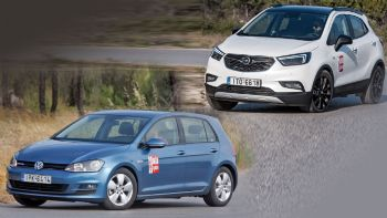 Opel Mokka X Vs VW Golf