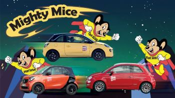 Fiat 500 vs Opel ADAM vs smart fortwo