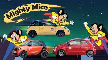 Fiat 500 vs Opel ADAM vs smart fortwo