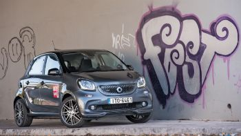 Test: smart forfour BRABUS