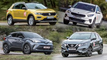 SUV με 25 χιλιάρικα: XCeed Vs Qashqai Vs C-HR Vs T-Roc