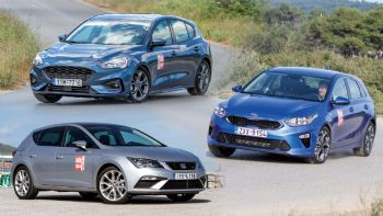 Ford Focus Vs Kia Ceed Vs SEAT Leon