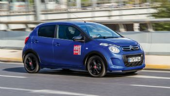 Διπλή δοκιμή: Citroen C1 Urban Ride & C1 Elle
