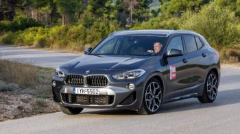 Δοκιμή: BMW X2 sDrive16d