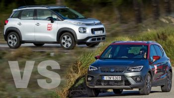 Citroen C3 Aircross VS SEAT Arona